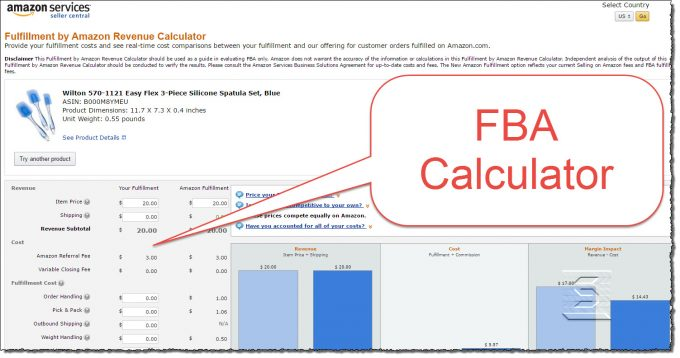 FBA Calculator